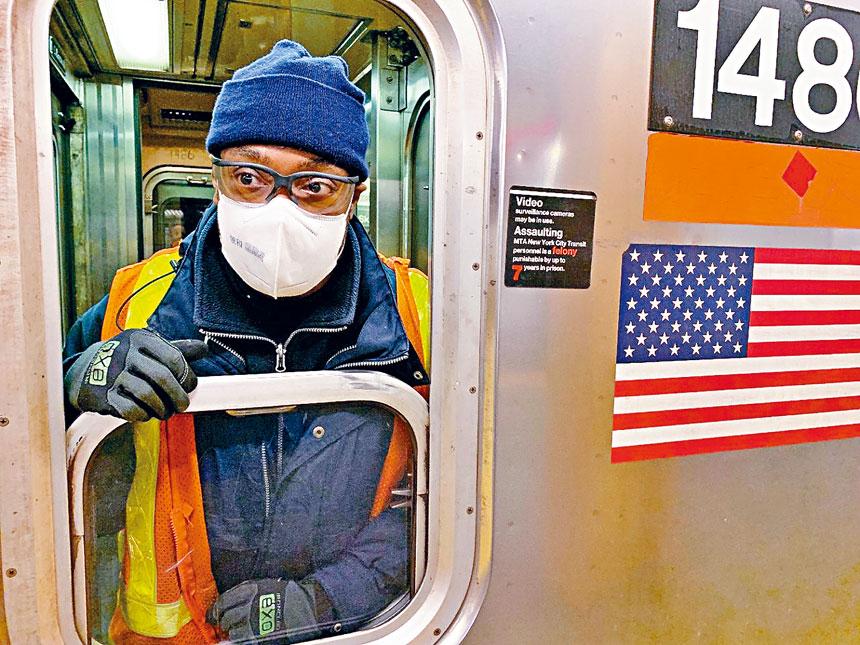 四分之一交通員工層患新冠,工人仍感到壓力。圖片來自紐約大學