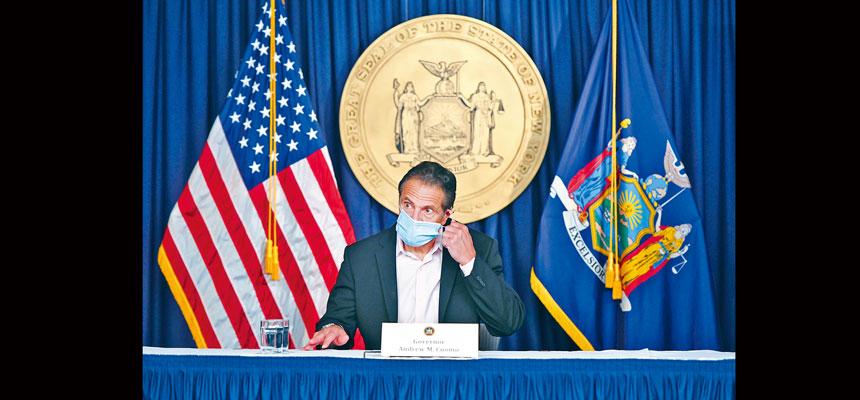 柯謨表示,州府將採取更具針對性的抗疫策略。州長辦公室Flickr圖片