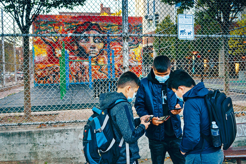 新措施只限制熱點地區學校關閉,但區內學生則毋須停課。Todd Heisler/紐約時報