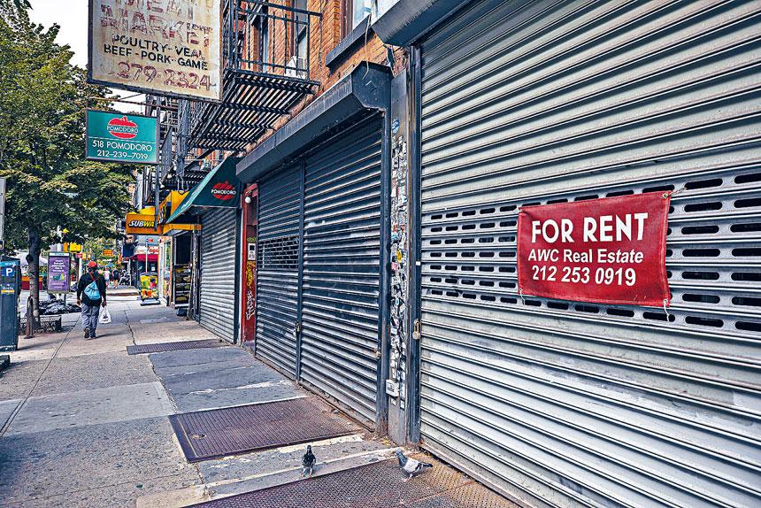 經濟專家估計,紐約市經濟復甦速度會慢於全國其他大城市。Zack DeZon/紐約時報