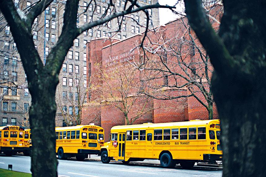 專家指出,今年教育局公布的出席率數字十分模糊不清。Hilary Swift/紐約時報