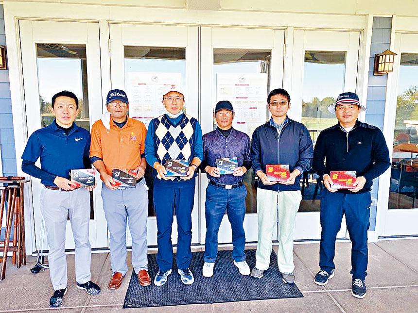 大華府華人高爾夫俱樂部2020年度總決賽落幕。