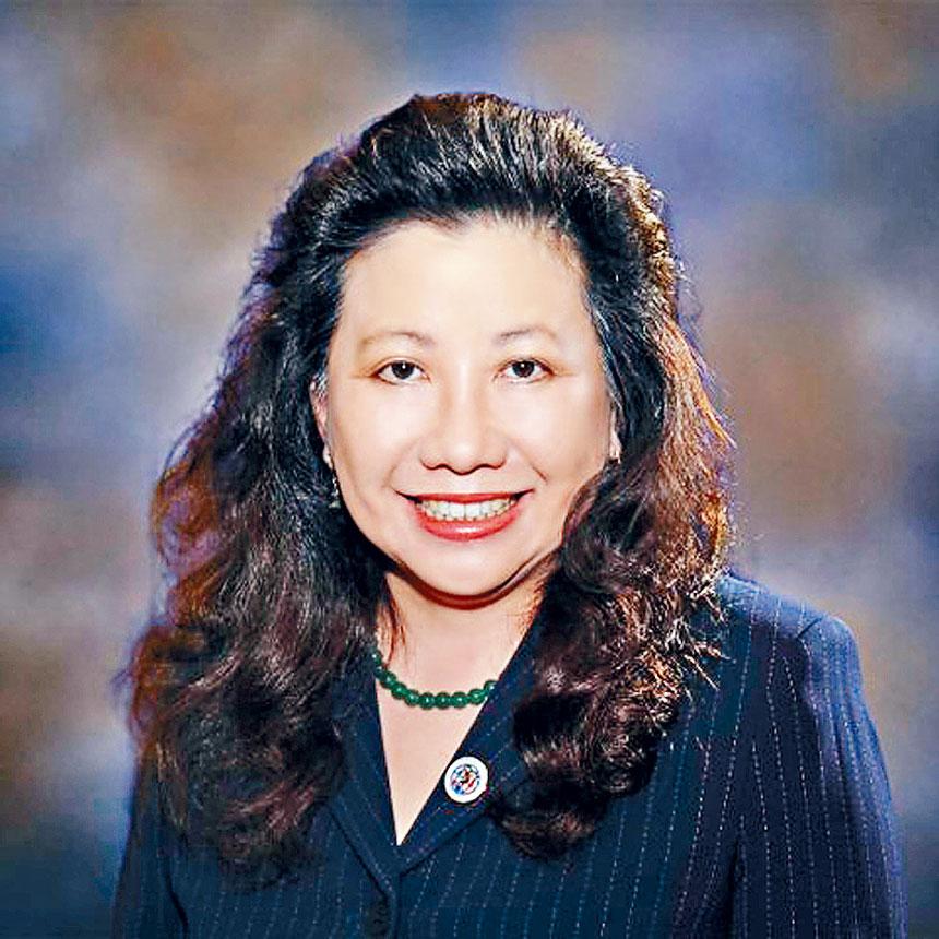 馬里蘭州華裔參議員李鳳遷(Senator Susan Lee)。
