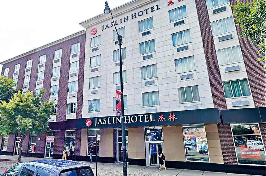 南華埠舍麥路的一家酒店,11日不幸發生祖孫槍殺自殺悲劇。