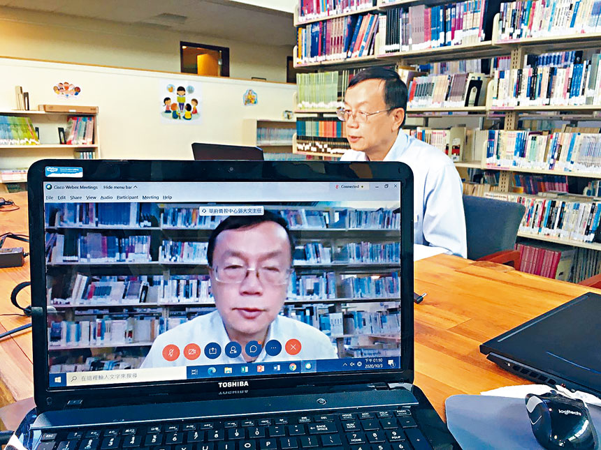 華府文教中心主任郭大文應邀出席致詞。