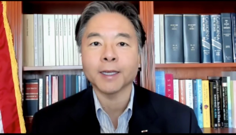 加州第33區國會議員劉雲平。視頻截圖