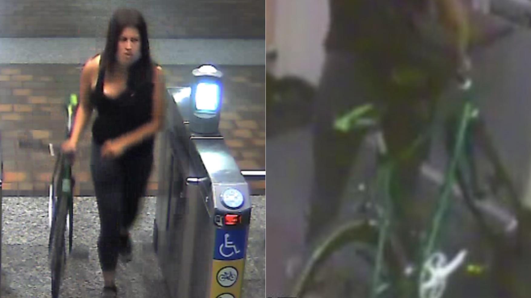 女子隨身攜帶武器,洛杉磯市中心地鐵站殺害運輸局工作人員。KTLA5 圖
