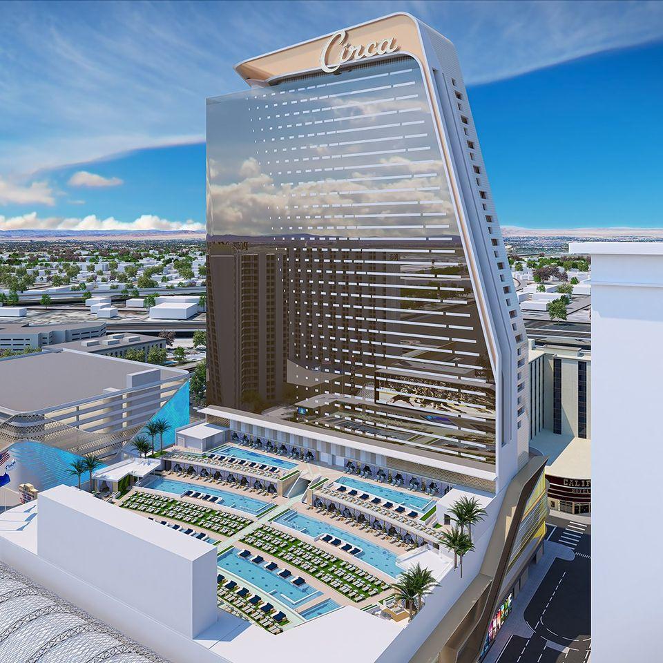 全新賭場「Circa」28日正式對外開放。Circa Las Vegas