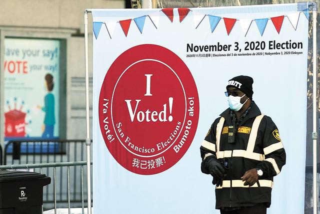 選舉將臨,民調發現兩項提案支持率差異。美聯社資料圖片