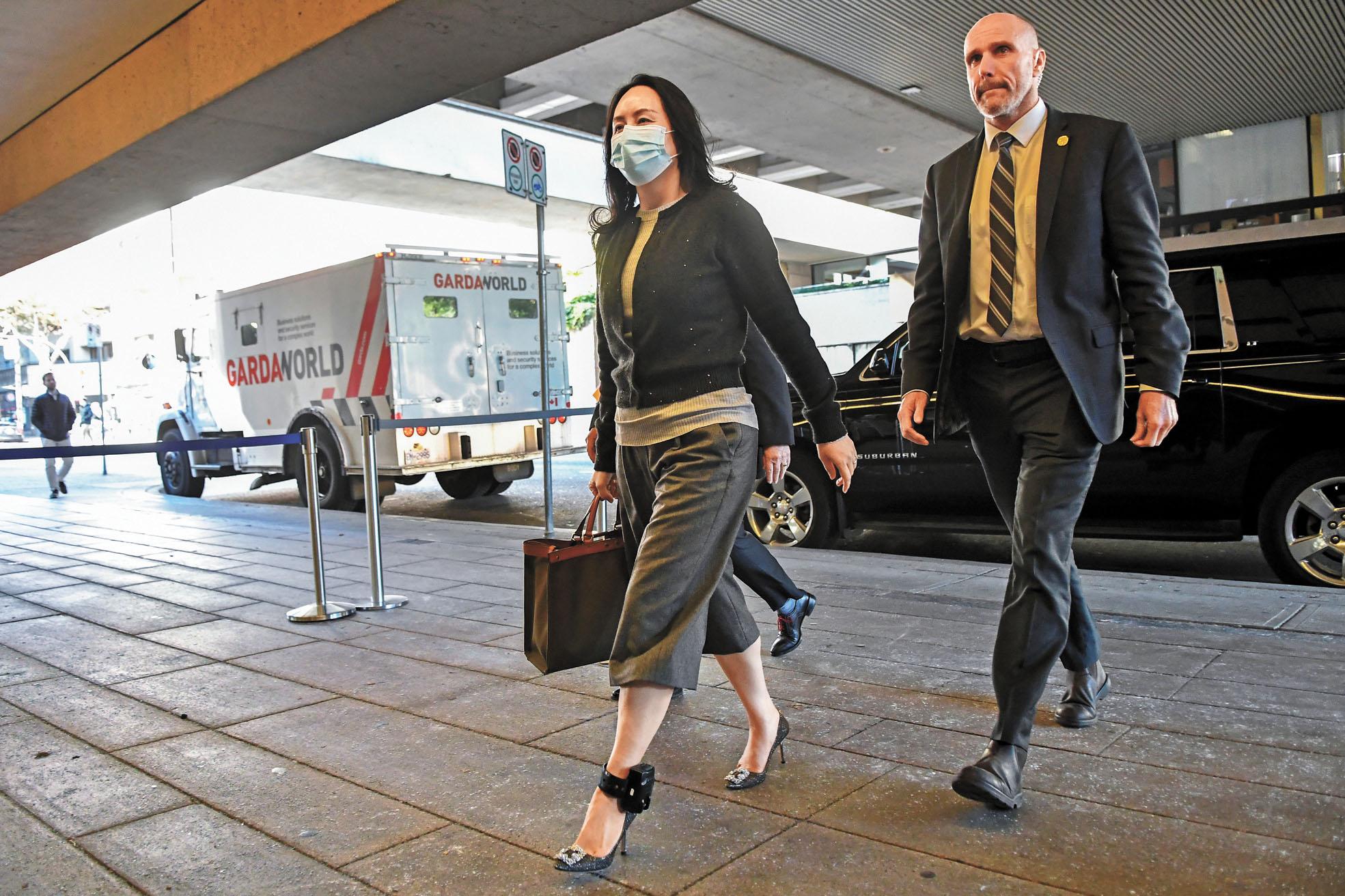 ■孟晚舟引渡案26日於加拿大法院開始聽取證人作供。路透社