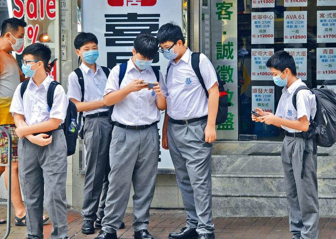 調查發現,本港新移民學生在換位思考、認知適應性等,較本地生優勝。