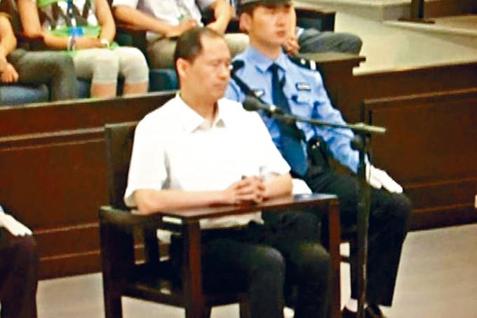 宜昌中院曾審理周永康兒子周濱受賄案。