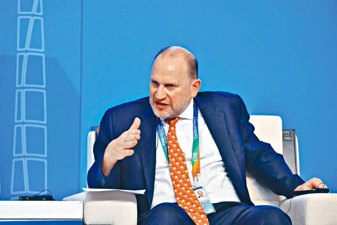 杜嘉祺表示,期待在中國市場進一步拓展業務。