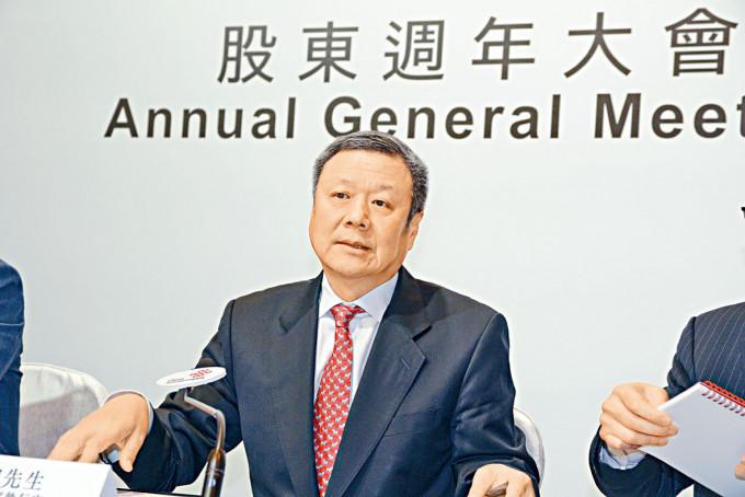 中國聯通董事長兼首席執官王曉初。