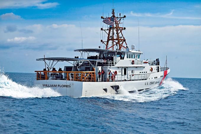 美國新一代快速反應巡邏艦。