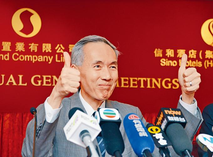 黃志祥稱,本港目前正為黃金時代,應該為鄰近深圳而驕傲。他又建議本港年輕人應更多放眼深圳。