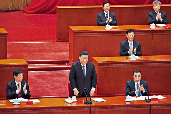五中全會料鞏固習近平的領袖地位。