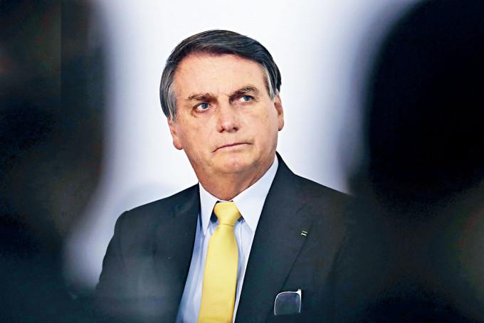 巴西總統博索納羅。