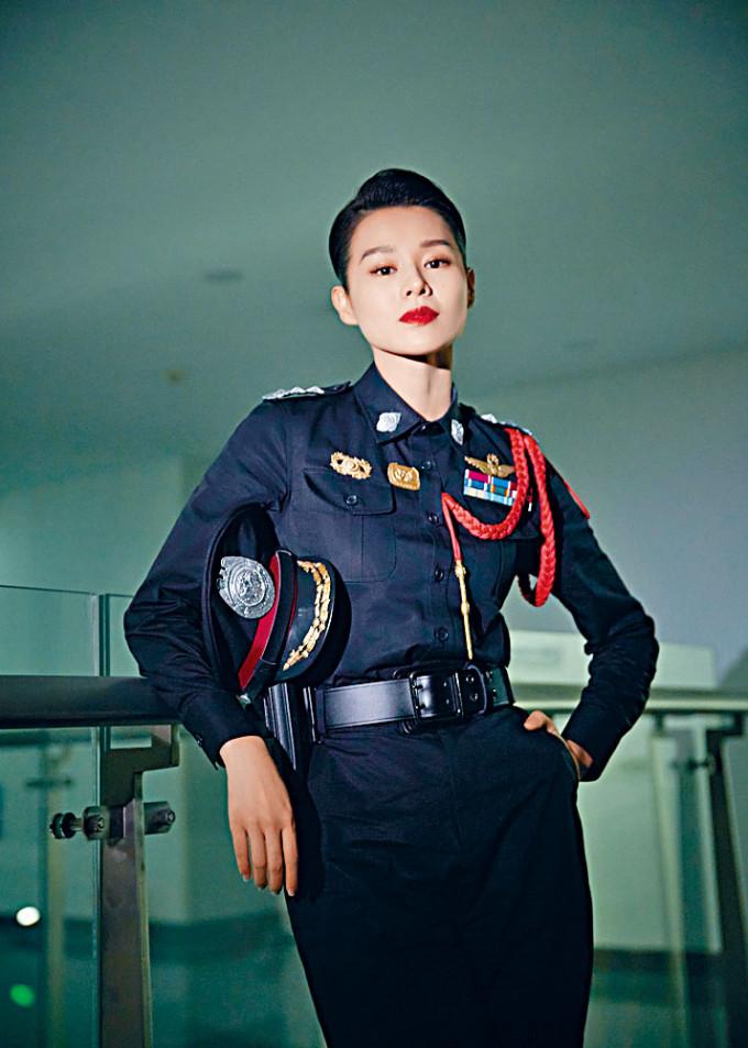 杏兒挑戰電影《誤殺》中的女警官兼媽媽角色,承認挑戰大。