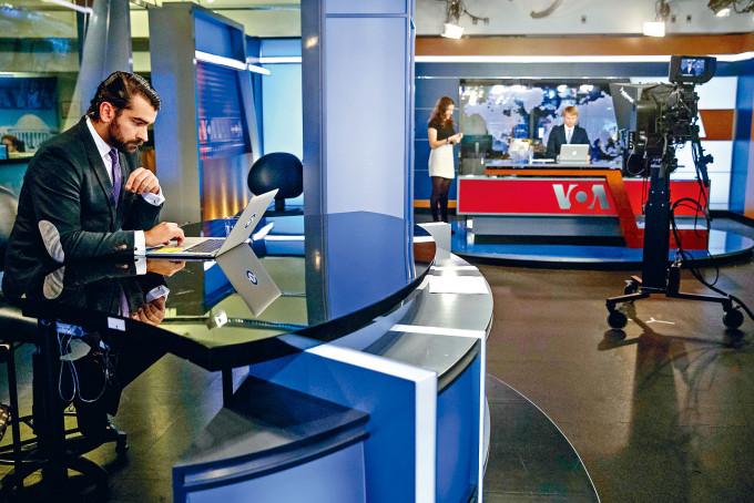 美國之音位於華盛頓的錄影廠。