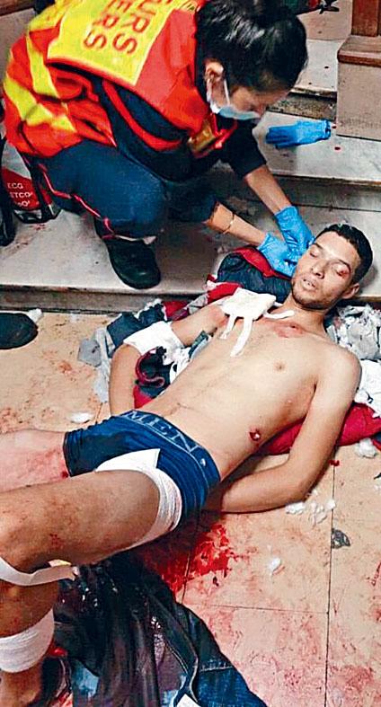 突尼斯男子奧伊薩育砍殺三人後被捕。