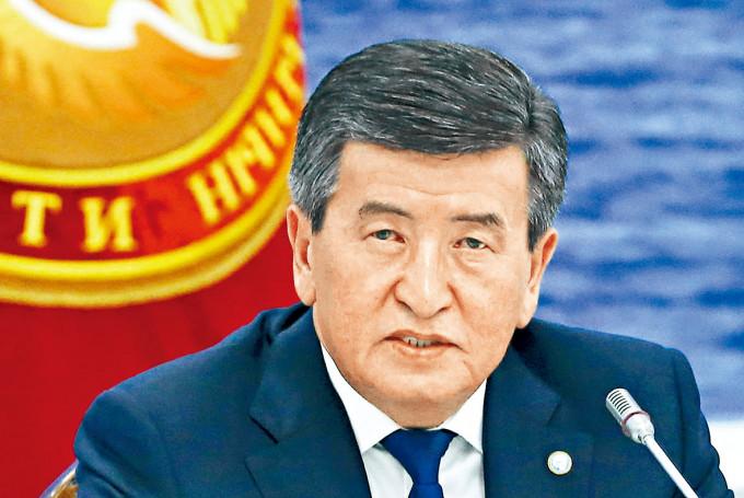 吉爾吉斯總統熱恩別科夫。