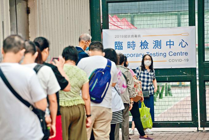 陳茂波認為,大規模強制檢測可為恢復經濟活動創造條件。