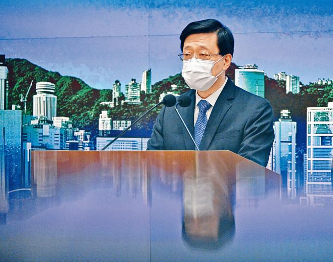 李家超不滿台灣無誠意解決事件,阻礙陳同佳赴台自首,凸顯台方有政治籌謀。