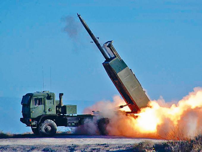 美國售台的多管火箭系統。