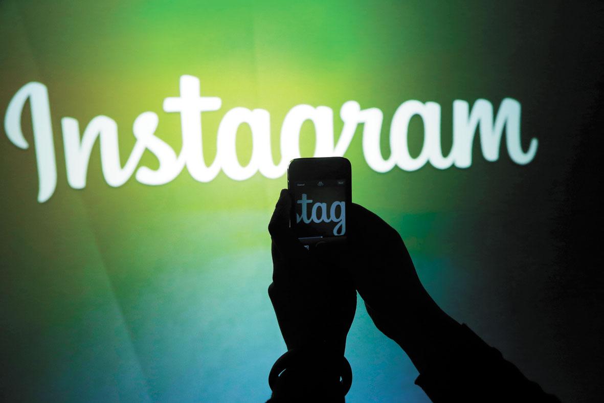歐盟接到許多投訴,並已發現Instagram的兒童個人數據處理有許多令人擔憂之處。美聯社資料圖片
