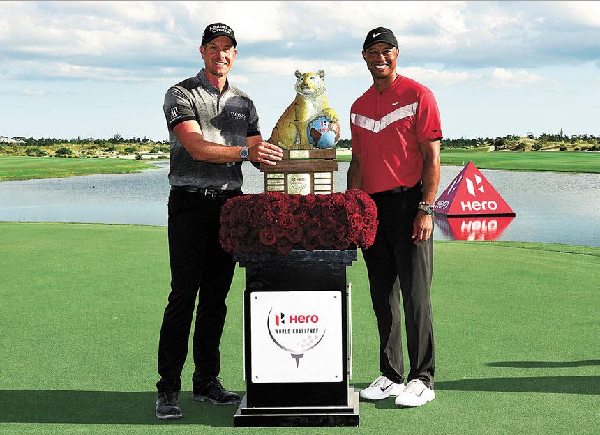 英雄世界挑戰賽去年的冠軍得主是斯滕森(左)。美聯社