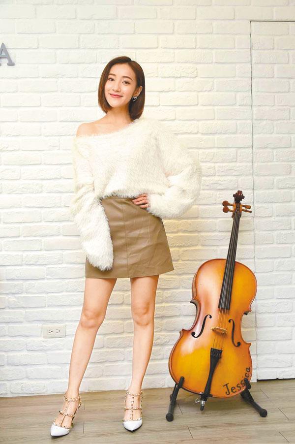 夏宇禾在劇中哀求前男友復合,讓她想起過去的戀情。 網上圖片