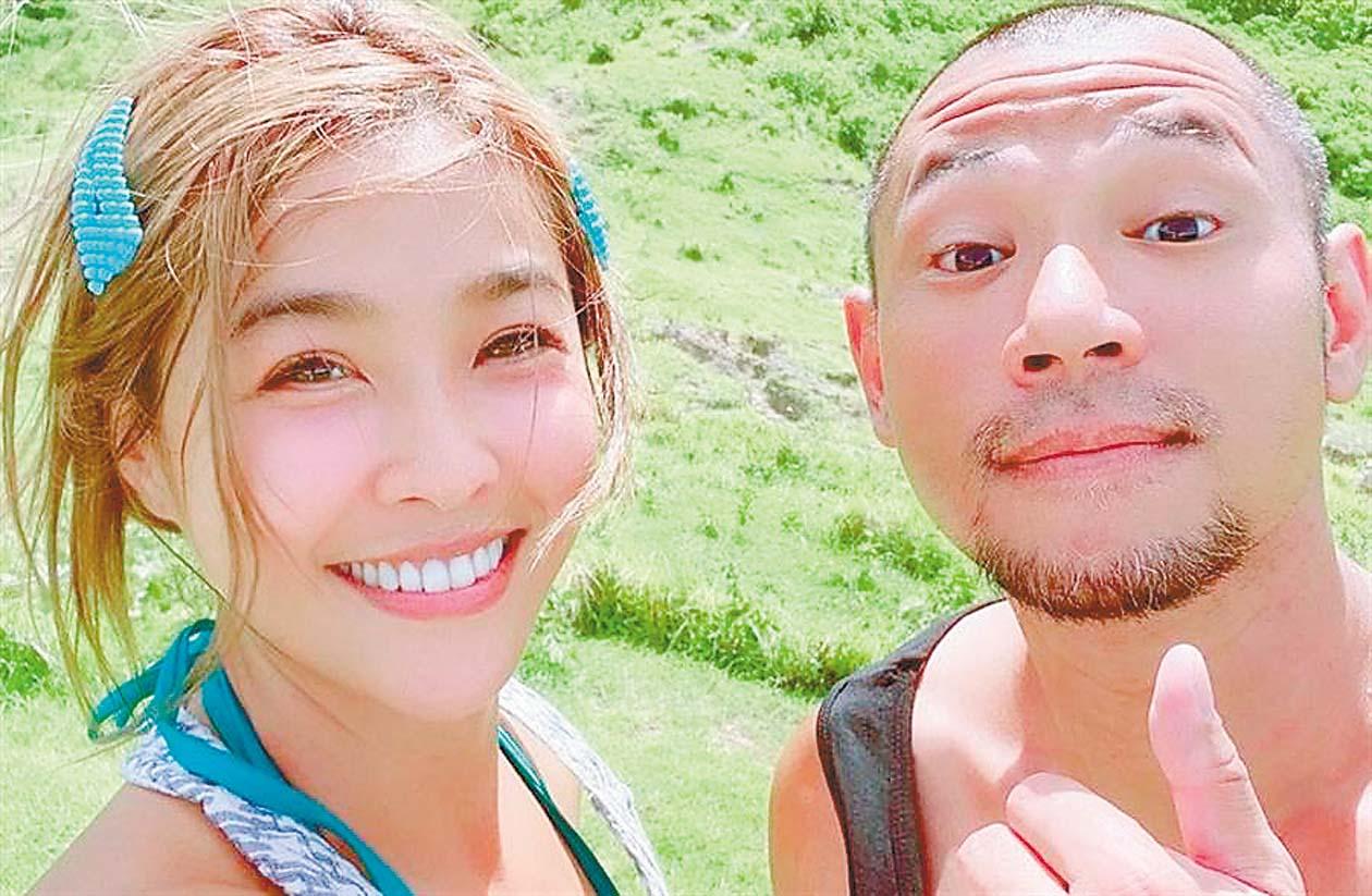 ■小嫻(左)和金剛(右)8月公開認愛後,就經常在社群媒體上曬出兩人恩 愛合照。 網上圖片
