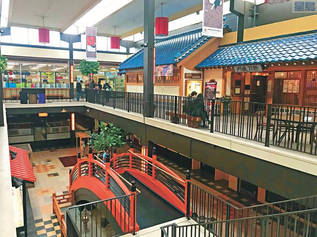 三藩市日本城的餐館和店舖深具特色。資料圖片