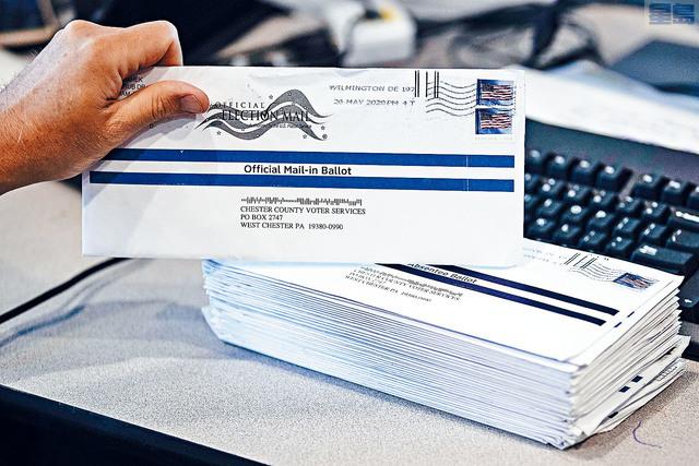 ■最高法院裁定,賓州選民的郵遞選票即便沒有清晰郵戳,只要選舉日結束後3天內送達,這類選票都可獲計算之內。     美聯社