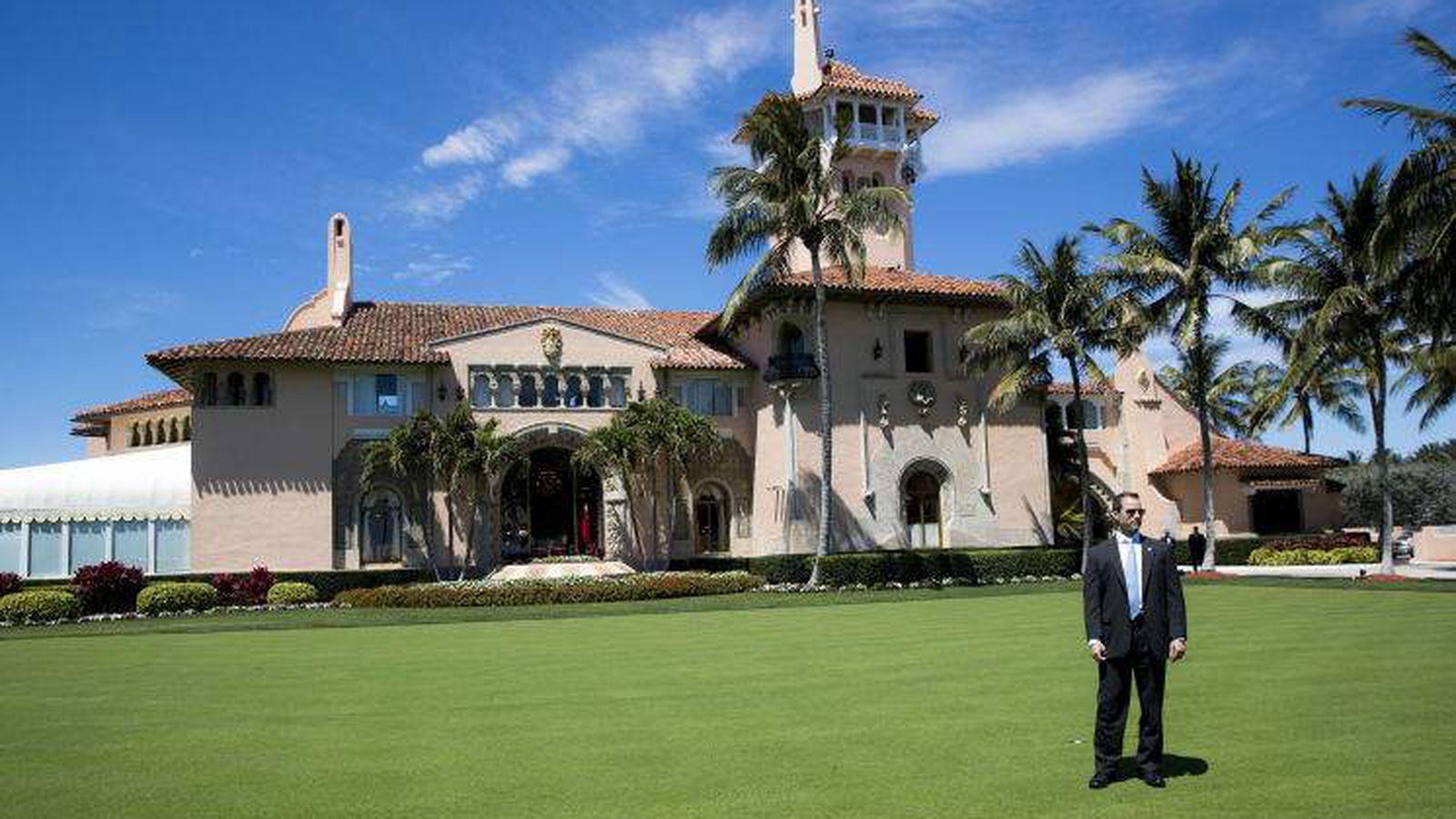 據報,特勤局正查詢保護總統總統的特工,是否有興趣轉職往佛州棕櫚灘工作,意味權威正準備替換離任後的保護任務。    紐約時報圖片