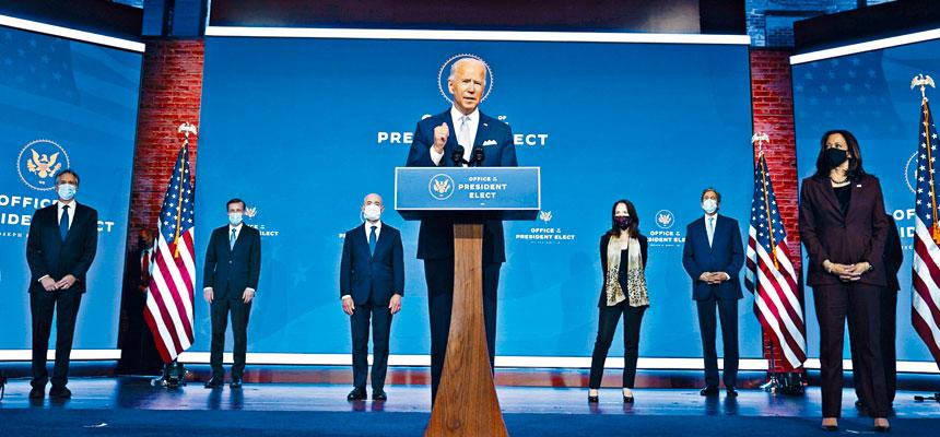 拜登24日宣布其外交與國安團隊提名人選。從名單中可以看出,拜登有意讓美國回到特朗普執政前的模樣。美聯社