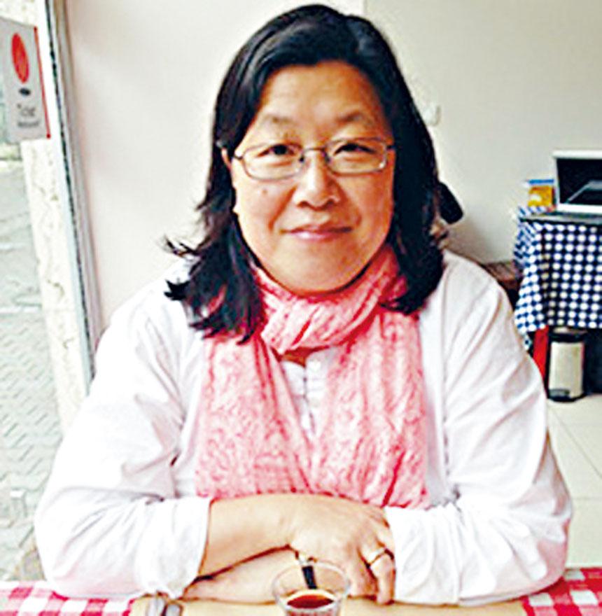 譚婉雯教授表示,法拉盛市中心急需更多的可負擔住房。 取自皇后學院網站