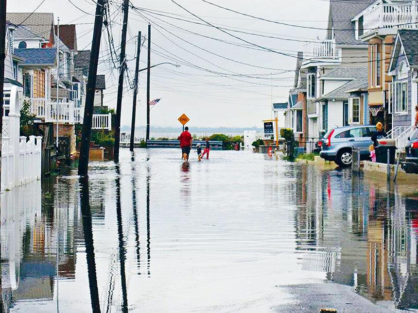 沿海防洪區土地規劃提案旨在幫助屋主和企業主抵禦洪災,提高災後恢復力。 城市規劃局提供