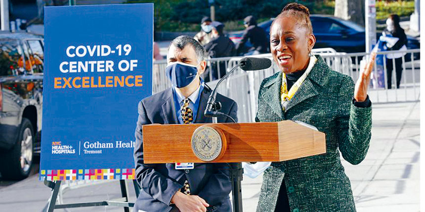 市醫管局下屬哥譚醫院開設首個新冠肺炎康復中心。 市醫管局提供