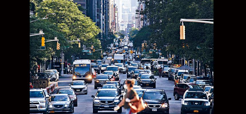 曼哈頓「擁擠費」計劃原本預計將從2021年初開始。Karsten Moran/紐約時報