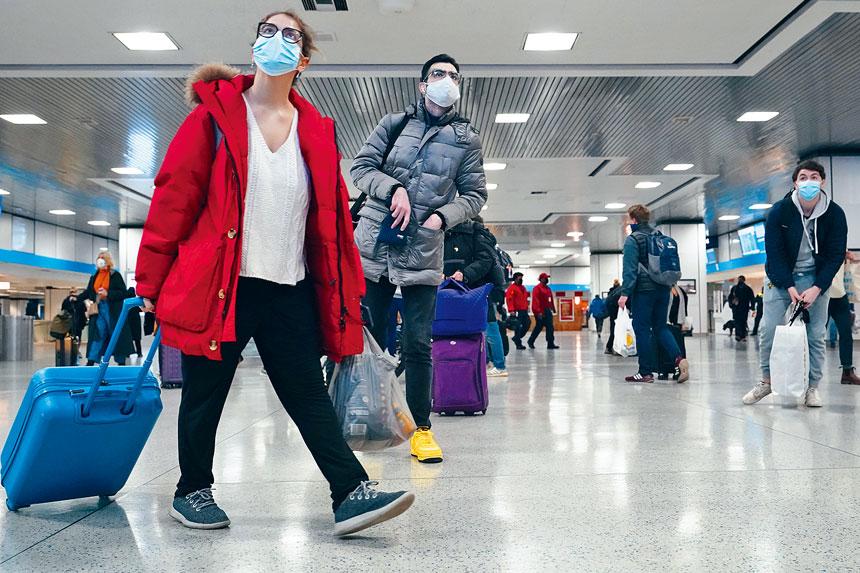意大利將進行試點計劃,允許紐約旅客免隔離檢疫。美聯社