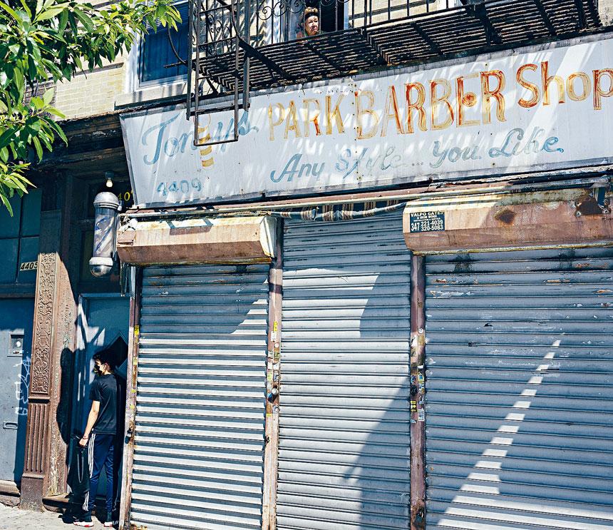 紐約及新州街頭到處可見關門或空置的店舖。Ismail Ferdous/紐約時報