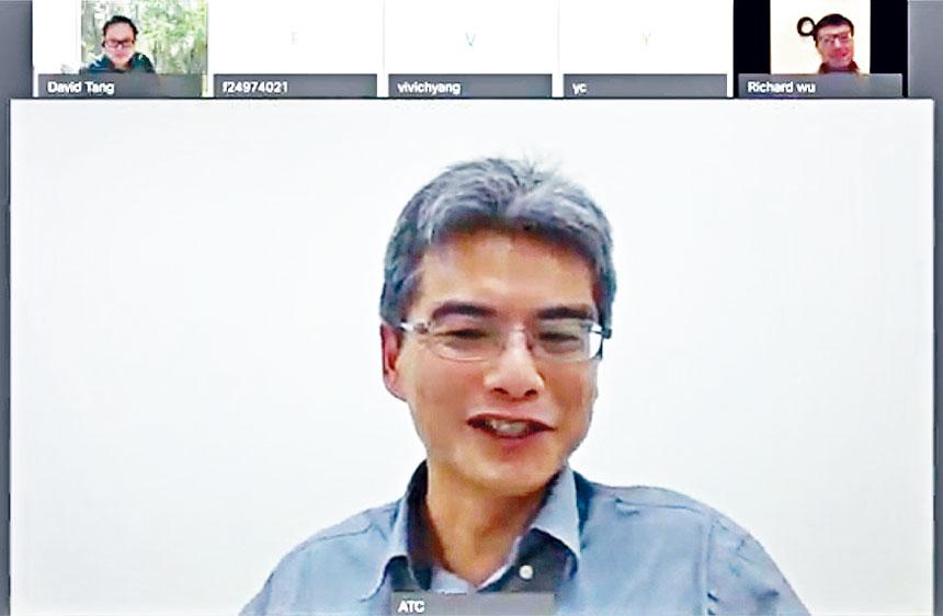 「台灣都市發展的世界脈絡與美國元素」講師鄭安廷。