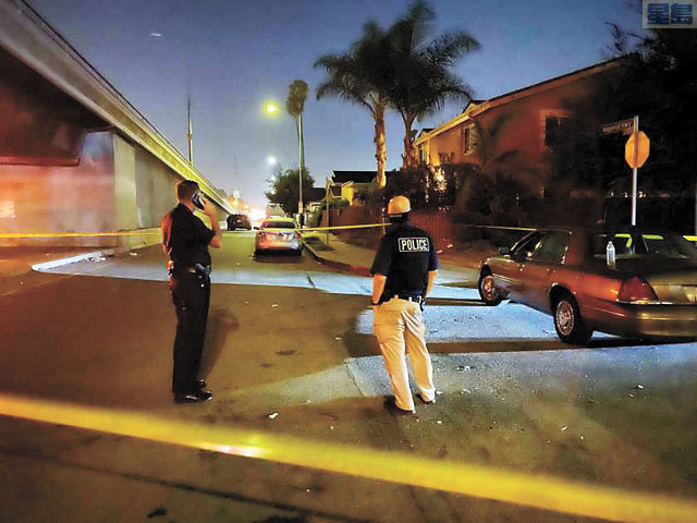 洛市今年兇殺案已達300起,十年來最血腥。洛杉磯時報