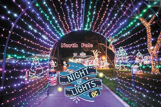 「橙縣夜之光」活動宣布順延至明年舉辦。Night of Lights OC