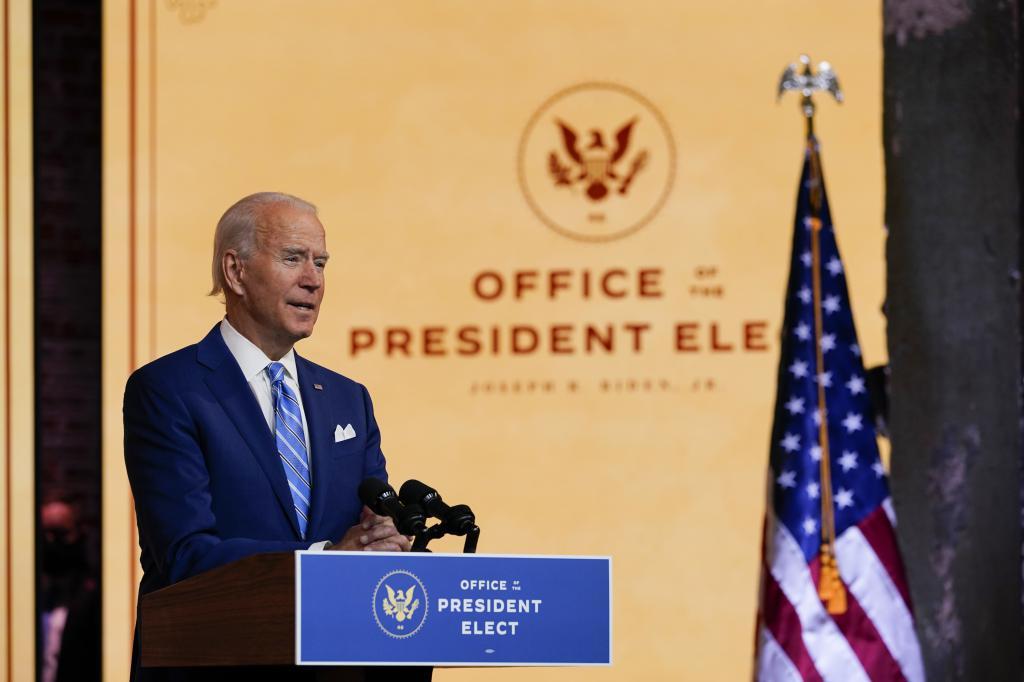 民主黨總統候選人拜登獲亞利桑那與威斯康辛州確認在當地的選舉勝出。美聯社