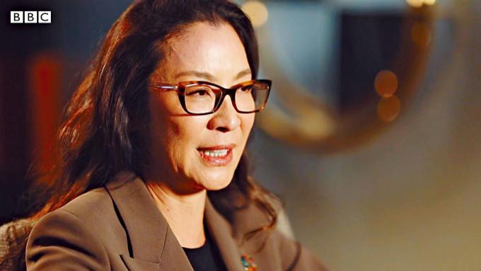 楊紫瓊成BBC百大最具影響力女性之一,與珍芳達齊上榜。