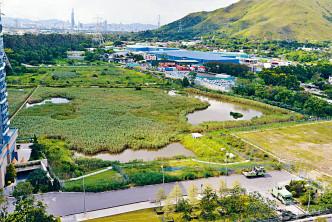 凹頭發展用地,包括公營及私營項目。