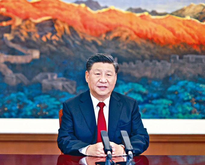 習近平指中國不會搞封閉排他的「小圈子」。